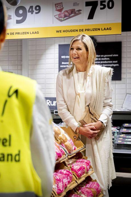 Verrassing: koningin Máxima bezoekt Nijmeegse Jumbo en milieustraat