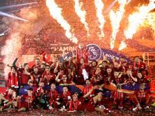 Les Reds ont reçu leur trophée de champion au coeur du kop... vide d'Anfield