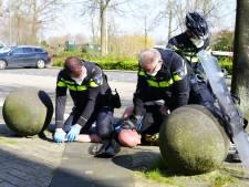 'Coronadreigers' voor de rechter in Utrecht: 'Agenten en winkelpersoneel verdienen bescherming en respect'