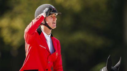 Verlooy pakt bronzen plak op EK jumping in Rotterdam