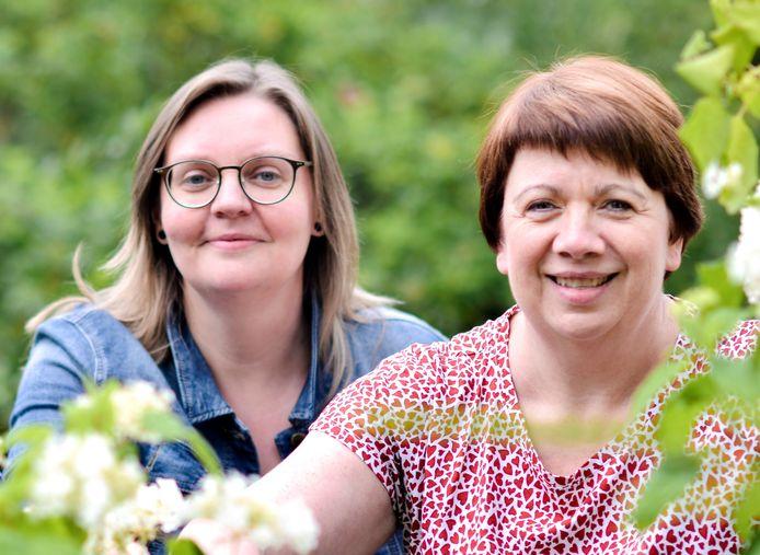 Wendy De Bontridder  en Mireille Goossens zetten in en rond Sint-Genesius-Rode dit weekend opnieuw hun schouders onder het Plantjesweekend van Kom Op Tegen Kanker.