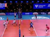 Nederlandse volleyballers in thriller langs Frankrijk