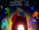 De populaire game 'Among Us'.