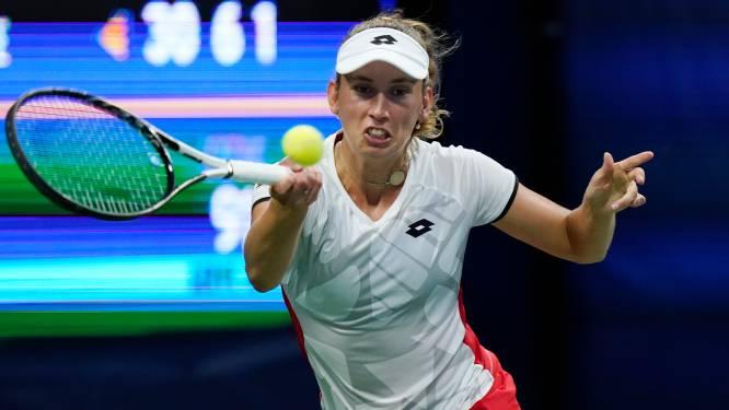 """US OPEN. Elise Mertens overleeft met veel moeite eerste ronde: """"Fier op mijn wilskracht"""" - Murray ergert zich na verlies tegen Tsitsipas aan lange toiletpauze"""