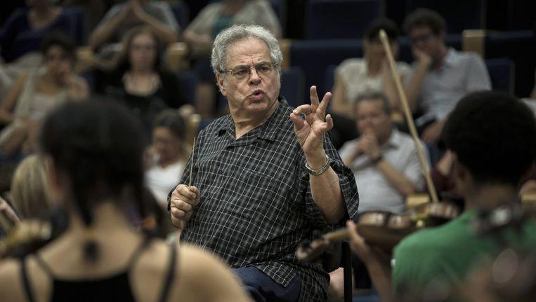 Violist en dirigent Itzhak Perlman Beeld anp