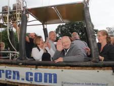 Grote wens 80-jarige Jaap Mulder uit Millingen gaat in vervulling: hij gaat de lucht in