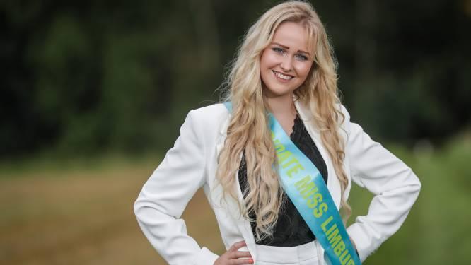 """Magali werd als 3-jarig kind gebeten door een hond, nu dingt ze mee naar kroontje van Miss Limburg: """"Ik had altijd het gevoel dat iedereen mijn littekens zag"""""""