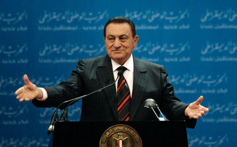 Hosni Mubarak Beeld AP