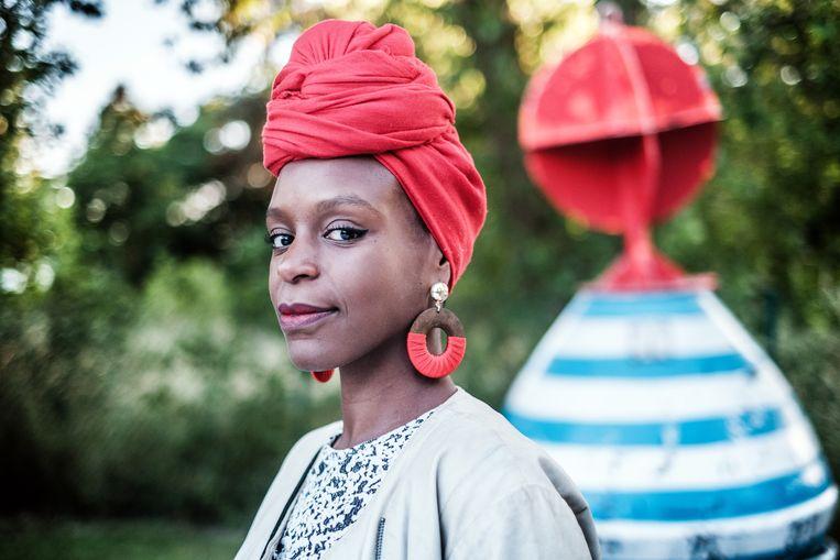 Dalilla Hermans: 'Zwarte Pieten maakten me als kind doodsbang. Ik dacht: 'Dat zijn Afrikanen die mij komen halen.' Beeld Bob Van Mol
