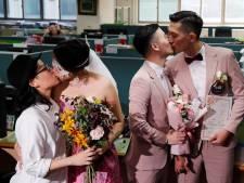 Taiwan voltrekt eerste homohuwelijken in Azië, ondanks verdeeldheid