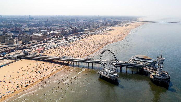 Olympische sporters die een medaille halen, krijgen geen huldiging in Tokio, maar op het strand van Scheveningen.