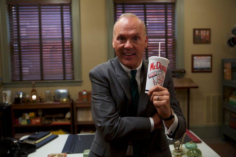 Michael Keaton als Ray Kroc in 'The Founder' Beeld rv Daniel Mcfadden