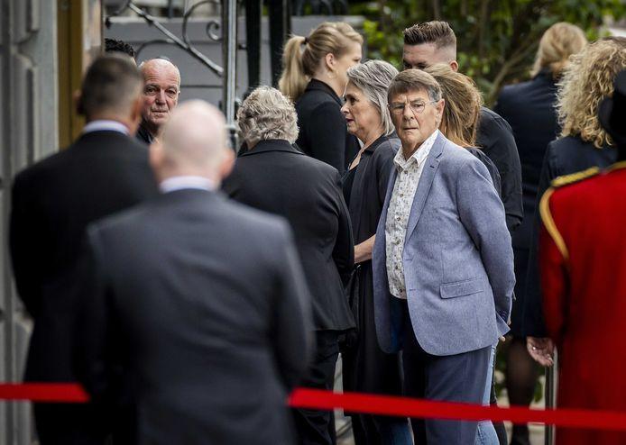 De ouders van Nicky Verstappen en Tanja Groen.
