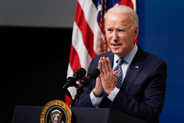 De luchtaanval op de militie Kata'ib Hezbollah is het eerste militaire optreden van president Joe Biden.  Beeld AP