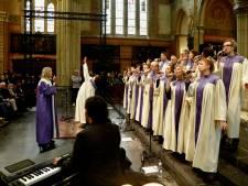 Gospel in de kerk, infostand in lege winkel: Bluesroute Helmond op 16 locaties met 52 acts