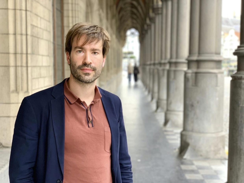VUB-onderzoeker Pieter-Paul Verhaeghe. Beeld rv voor detour