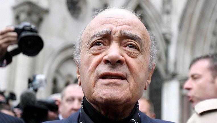 Mohamed al-Fayed (Archiefbeeld). Beeld epa