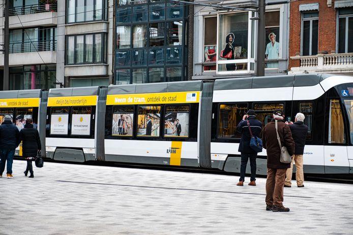 Door een vakbondsactie is het bus- en tramverkeer op vrijdag 24 september verstoort.