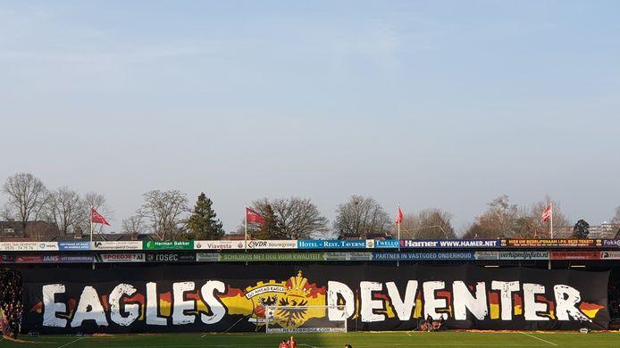 GA Eagles krijgt weer wat fans te zien in Almelo.