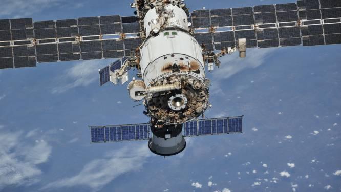 Rookalarm gaat af aan boord ruimtestation ISS