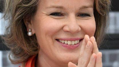 Koningin Mathilde bedankt voor verjaardagswensen