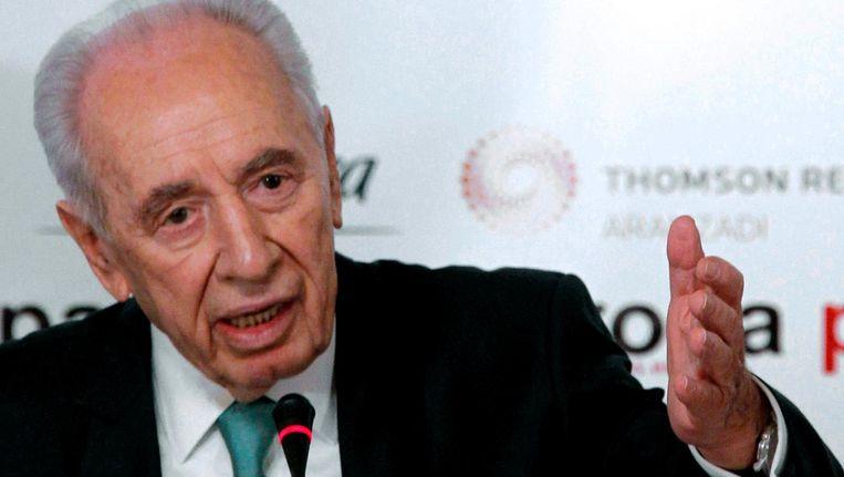 Archieffoto van Shimon Peres uit 2011. Beeld epa