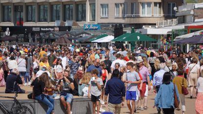 """Druktebarometer aan de kust kleurt vooral groen, in Oostende even oranje: """"Geen reden tot paniek, maar we zijn op onze hoede"""""""