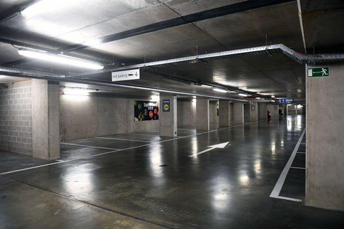 Parking Vaartkom is nog geen vaste waarde bij shoppers die naar Leuven komen maar de stad blijft geloven in het potentieel van de randparking.