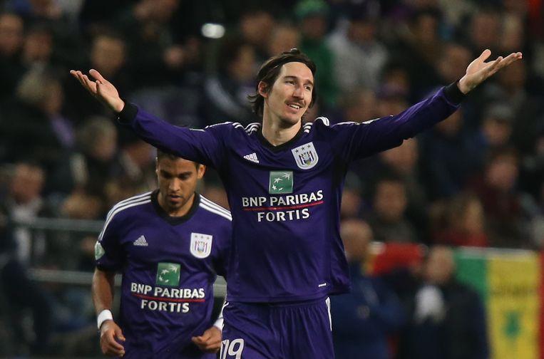 Sacha Kljestan speelde vijf jaar voor Anderlecht. Beeld BELGA