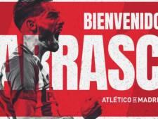 Le come-back de Yannick Carrasco à l'Atlético Madrid est officiel