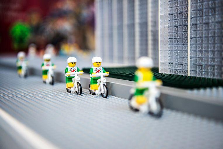 Lego in een speciaal 'Legohuis' in Kopenhagen, vergelijkbaar met het project dat in Scheveningen wordt opgezet.  Beeld EPA