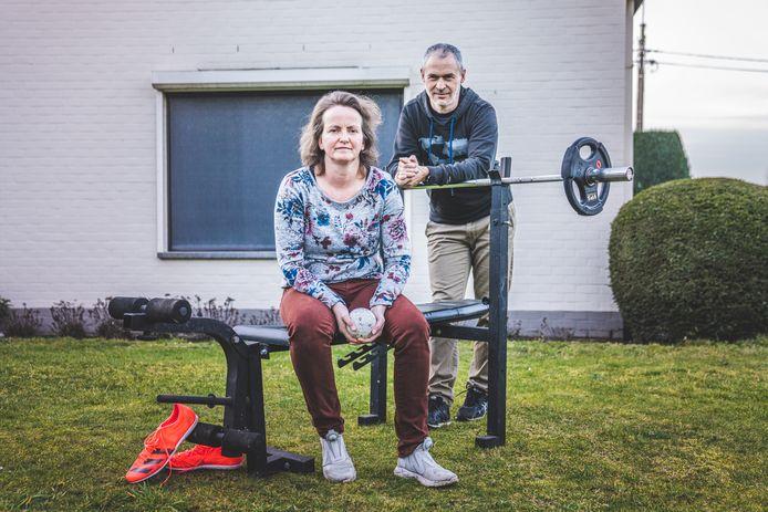 Melanie Moreels en Hendrik Hauttekeete, de ouders van Jente.