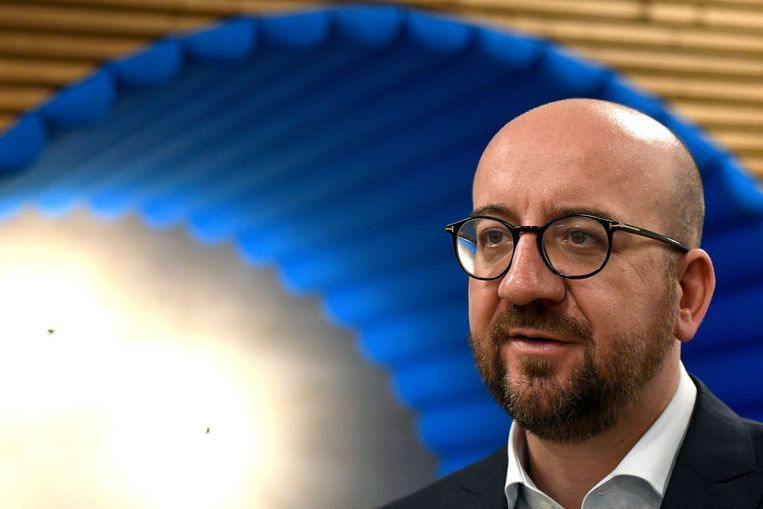 Premier Charles Michel (MR).  Beeld Photo News