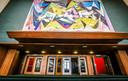 Het werk van Julien Van Vlasselaer in de erehal werd volledig gerestaureerd, nadat het jarenlang onder het podium lag.
