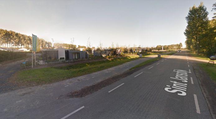Droompark Bad MeerSee aan de Sint-Jansdijk bij Nieuwvliet.