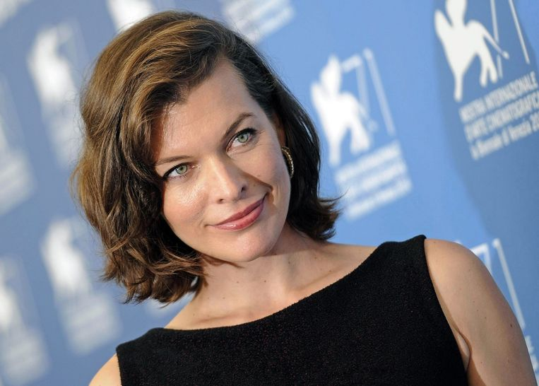 Actrice Milla Jovovich.