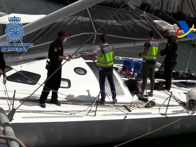 Spaanse politie doet enorme drugsvangst op peperdure zeilboot