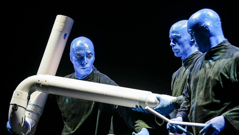 Blue Man Group Beeld anp