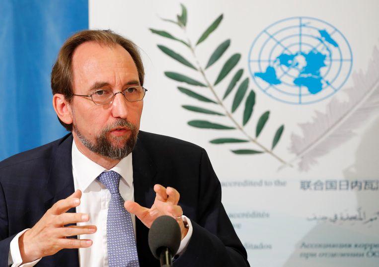 Zeid Ra'ad Al Hussein Beeld REUTERS