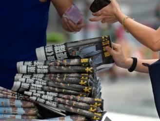 Prodemocratische krant Hongkong komt dag na inval op redactie met extra grote oplage