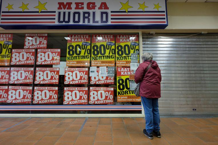 Een Mega World-winkel in Overijse. Beeld Photo News