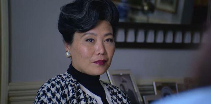 L'actrice Cathy Min Jung dans le rôle de Phung Chabanol.