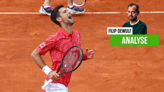 Novak Djokovic testte positief op het coronavirus.