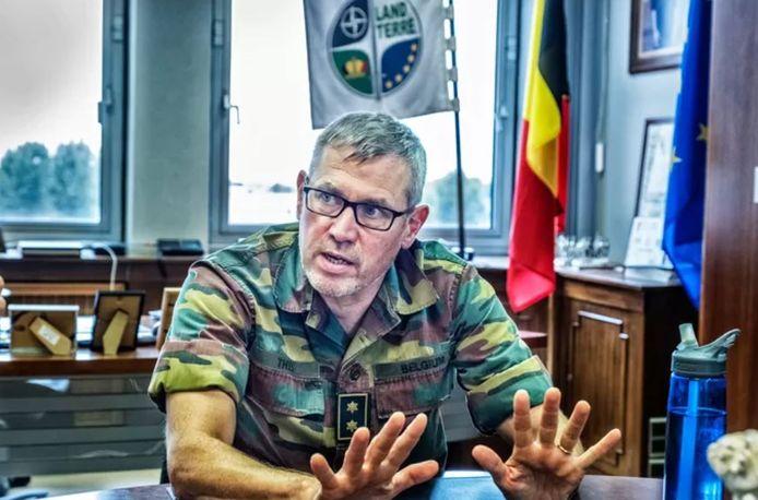 Le lieutenant-général Marc Thys.