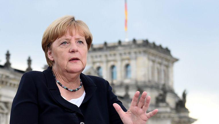 Bondskanselier Angela Merkel. Beeld EPA