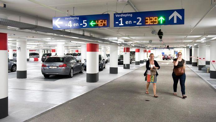 De nieuwe parkeergarage