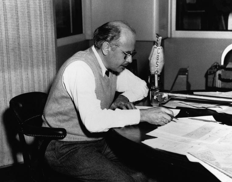 Journalist William Shirer in 1941. Beeld Bettmann Archive