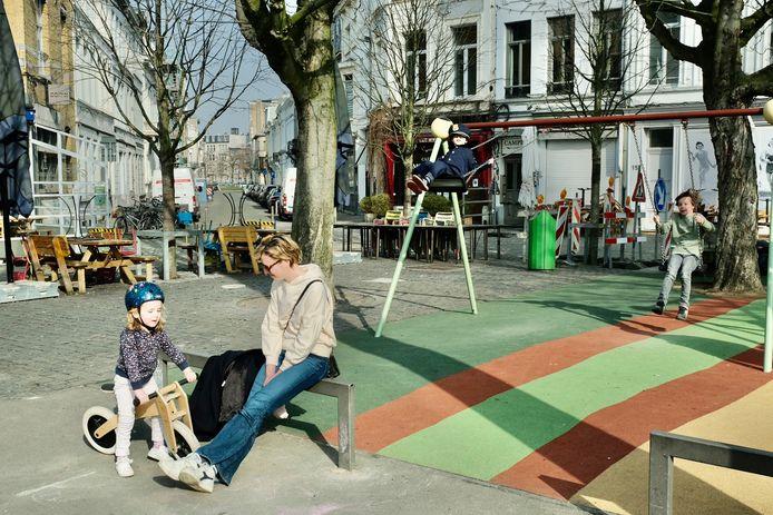 De wandelzoektocht brengt je langs verschillende plekken in Berchem en Zurenborg.