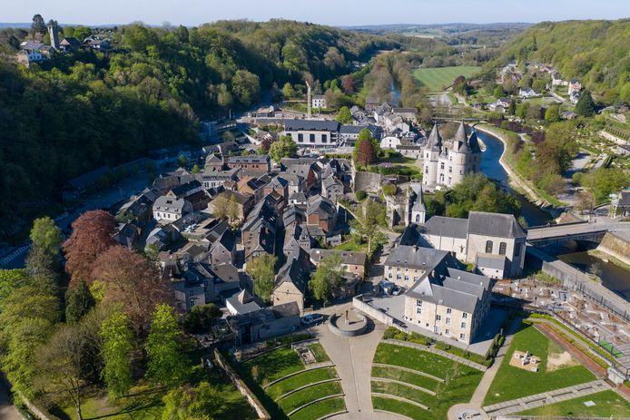 Le village de Durbuy dans les Ardennes.