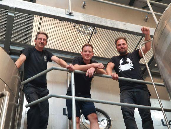 Peter, Jeroen en Folko: de drie gezichten van de Schelderbrouwerij op dit moment.